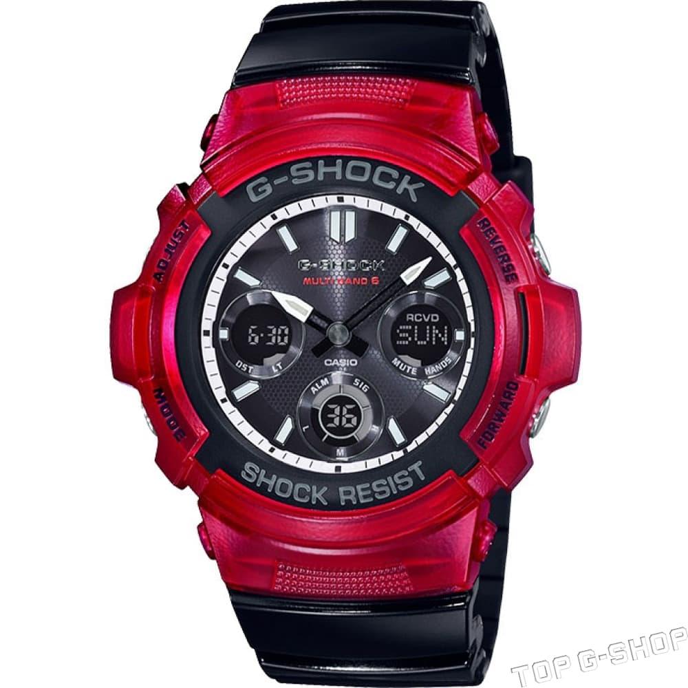 Casio G-Shock AWG-M100SRB-4A